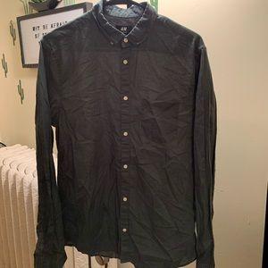H&M button down shirt size M